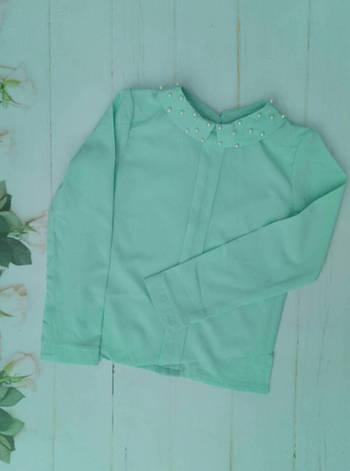 Блузка в школу для девочки подростка  р.128-152, фото 2