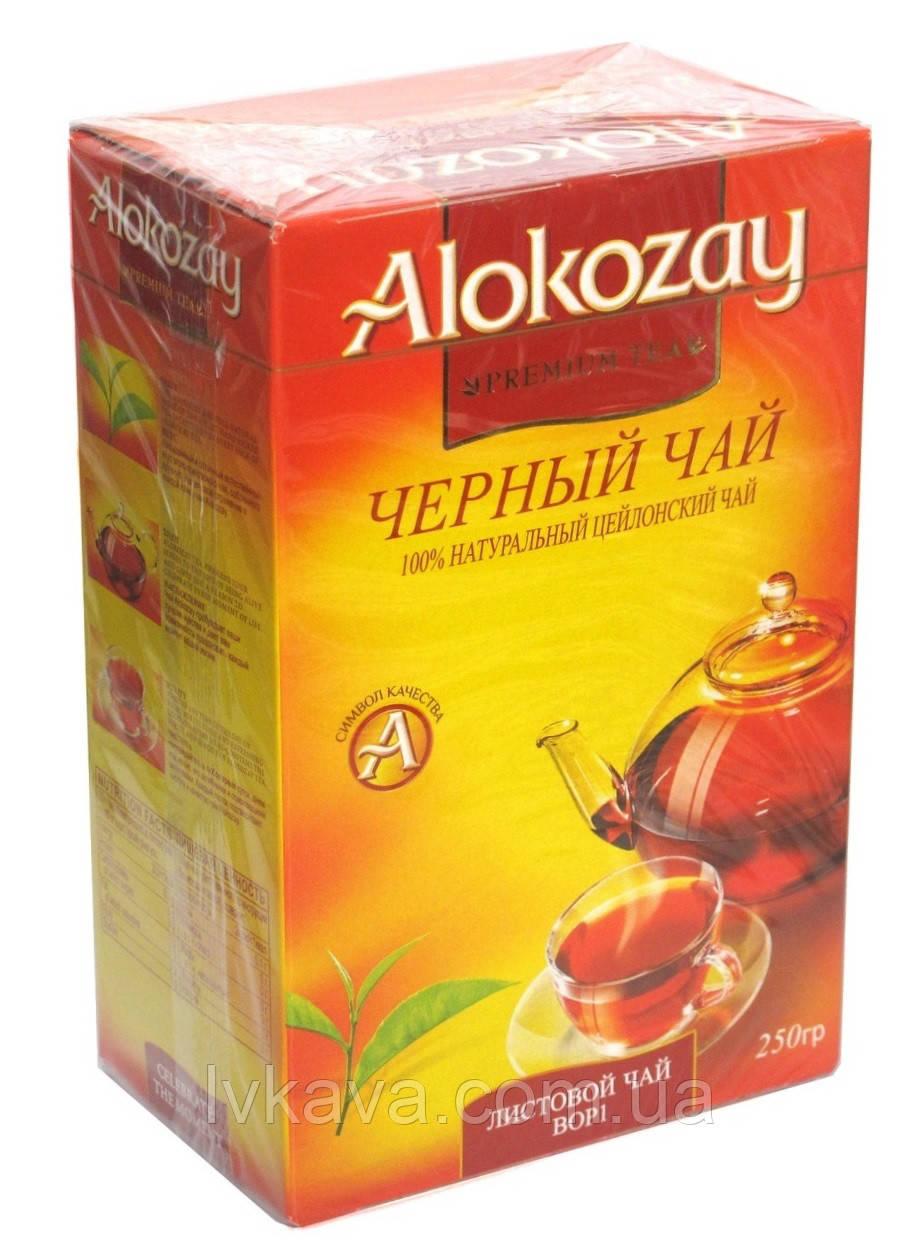 Чай черный  цейлонский крупнолистовой BOP1 Alokozay , 250 гр