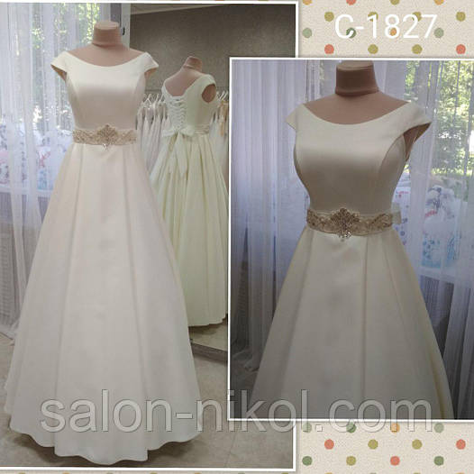 Свадебное платье 1827