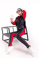 Женский весенний спортивный костюм кофта и лосины