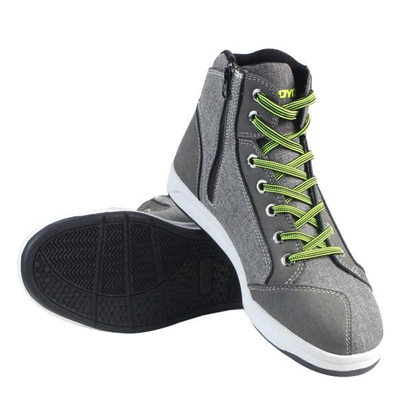Мужчины короткие Ботинки случайные спортивные мотоцикл езда обувь дышащий серый для Scoyco-1TopShop