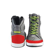 Мужчины короткие Ботинки случайные спортивные мотоцикл езда обувь дышащий серый для Scoyco-1TopShop, фото 3