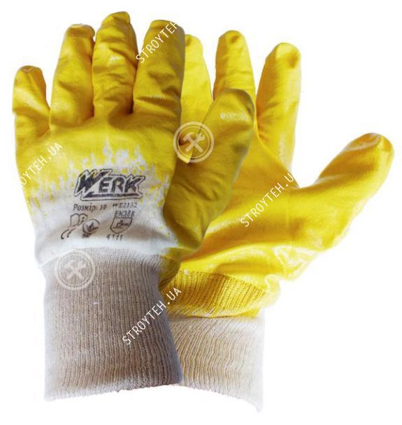 Werk WE2132 Перчатки рабочие
