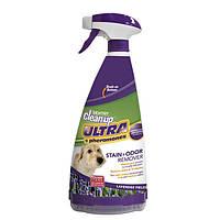 Устранитель пятен и запаха Sentry Clean-Up Ультра для собак и котов, 945 мл