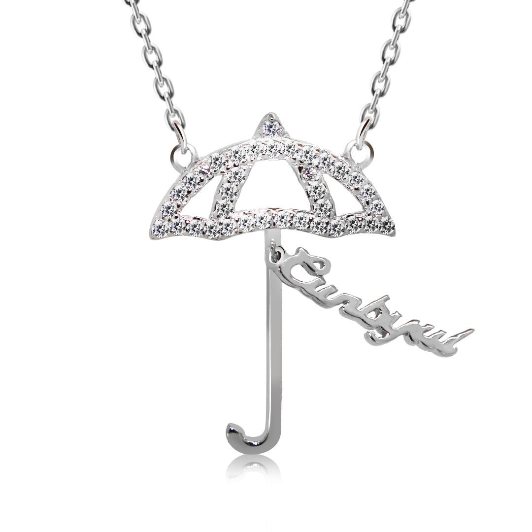 "Серебряная подвеска Kigmay Jewelry ""Зонтик"""