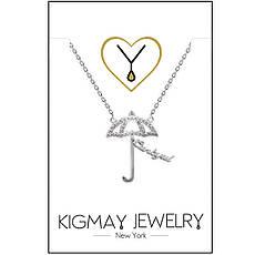 """Серебряная подвеска Kigmay Jewelry """"Зонтик"""", фото 3"""