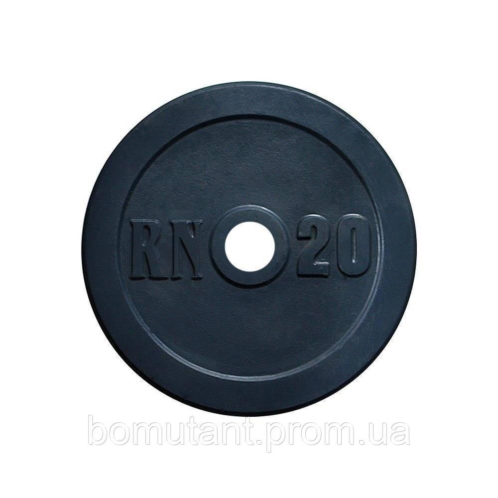 Диски по 20 кг для олимпийского грифа 50 мм