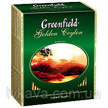 Чай черный Golden Ceylon Greenfield, 100 гр