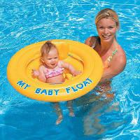 Детский надувной плотик Intex 56585 My Baby Float