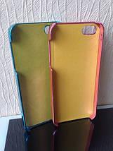 Чехол для 2D сублимации пластиковый Iphone 5/5S со стразами фиолетовый хром, фото 3