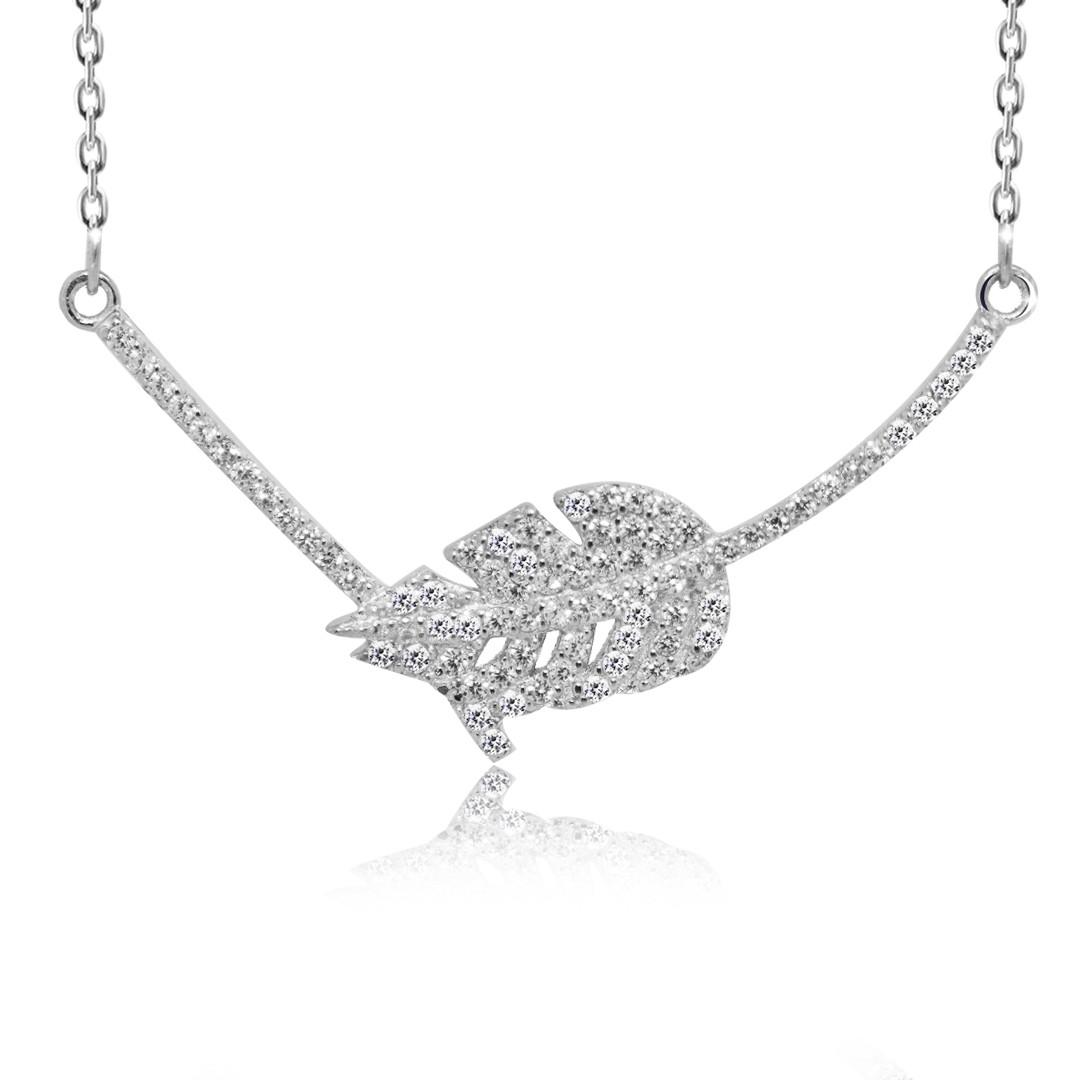 "Серебряная подвеска Kigmay Jewelry ""Дубовый лист"""