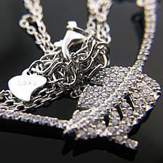 "Серебряная подвеска Kigmay Jewelry ""Дубовый лист"", фото 2"