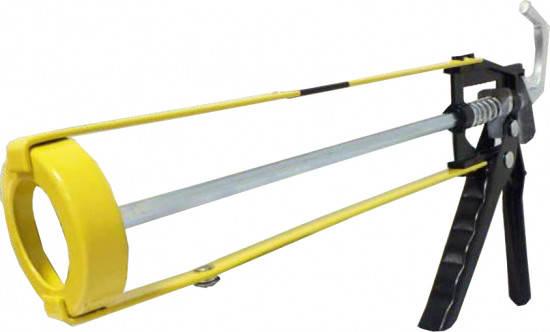 Сталь 31103 Пистолет для герметика профессиональный (скелетный корпус), фото 2