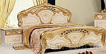 Кровать двуспальная 180 Реджина Голд (Миро Марк/MiroMark)