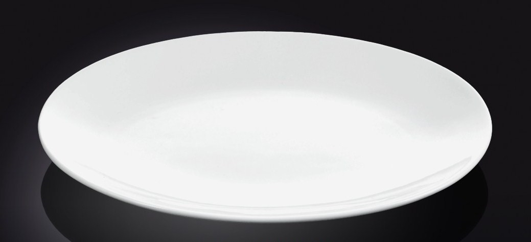 Тарелка обеденная 255мм Wilmax (спайка-6шт) 991015