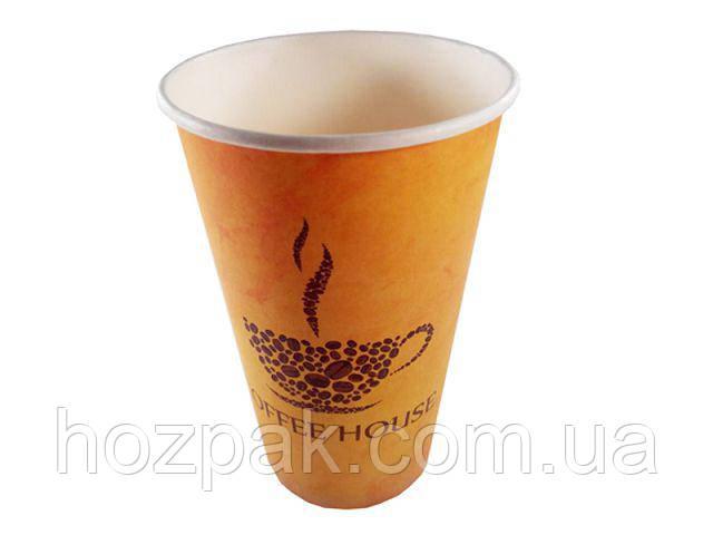 "Стакан паперовий 500 мл ""№204 Coffee House"" Маестро (35 шт)"