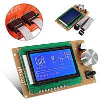 Регулируемый 12864 Дисплей LCD 3D-контроллер контроллера принтера для RAMPS 1.4 Reprap-1TopShop, фото 2