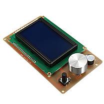 Регулируемый 12864 Дисплей LCD 3D-контроллер контроллера принтера для RAMPS 1.4 Reprap-1TopShop, фото 3