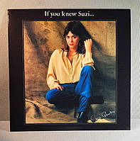 CD диск Suzi Quatro - If You Knew Suzi....