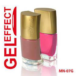 Лак маникюрный (9ml) MN-07 (GEL) с эффектом геля