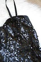Короткое платье в пайетках H&M, фото 2