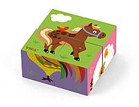 Пазл-кубики Ферма Viga toys (50835), фото 1