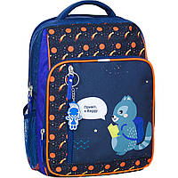 Школьный рюкзак Bagland для мальчика синий Baggy