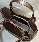Жіноча бронза сумка MK (24*31*15), фото 4