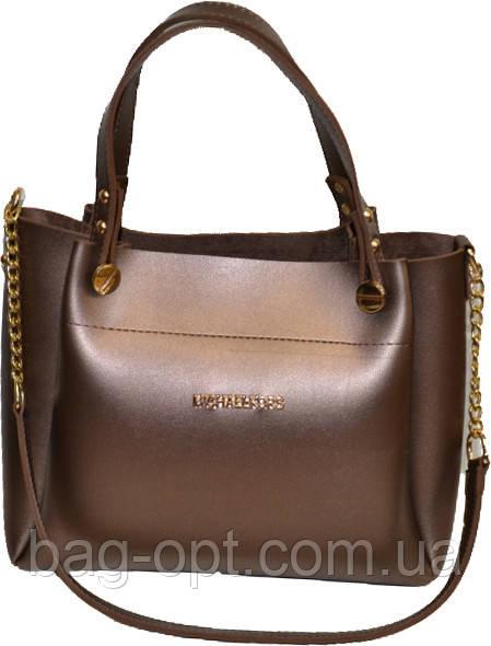 Жіноча бронза сумка MK (24*31*15)