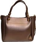 Жіноча бронза сумка MK (24*31*15), фото 2