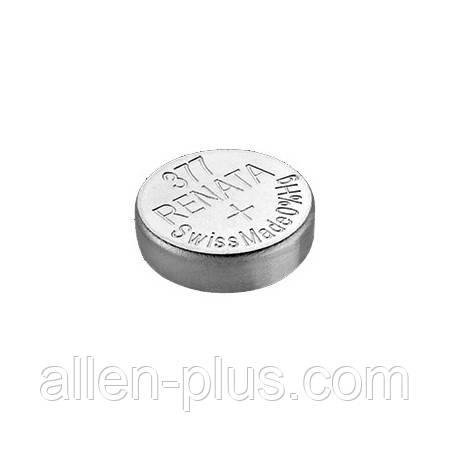 Батарейка RENATA 377 (SR626SW, SR626, SR66), оксид серебра