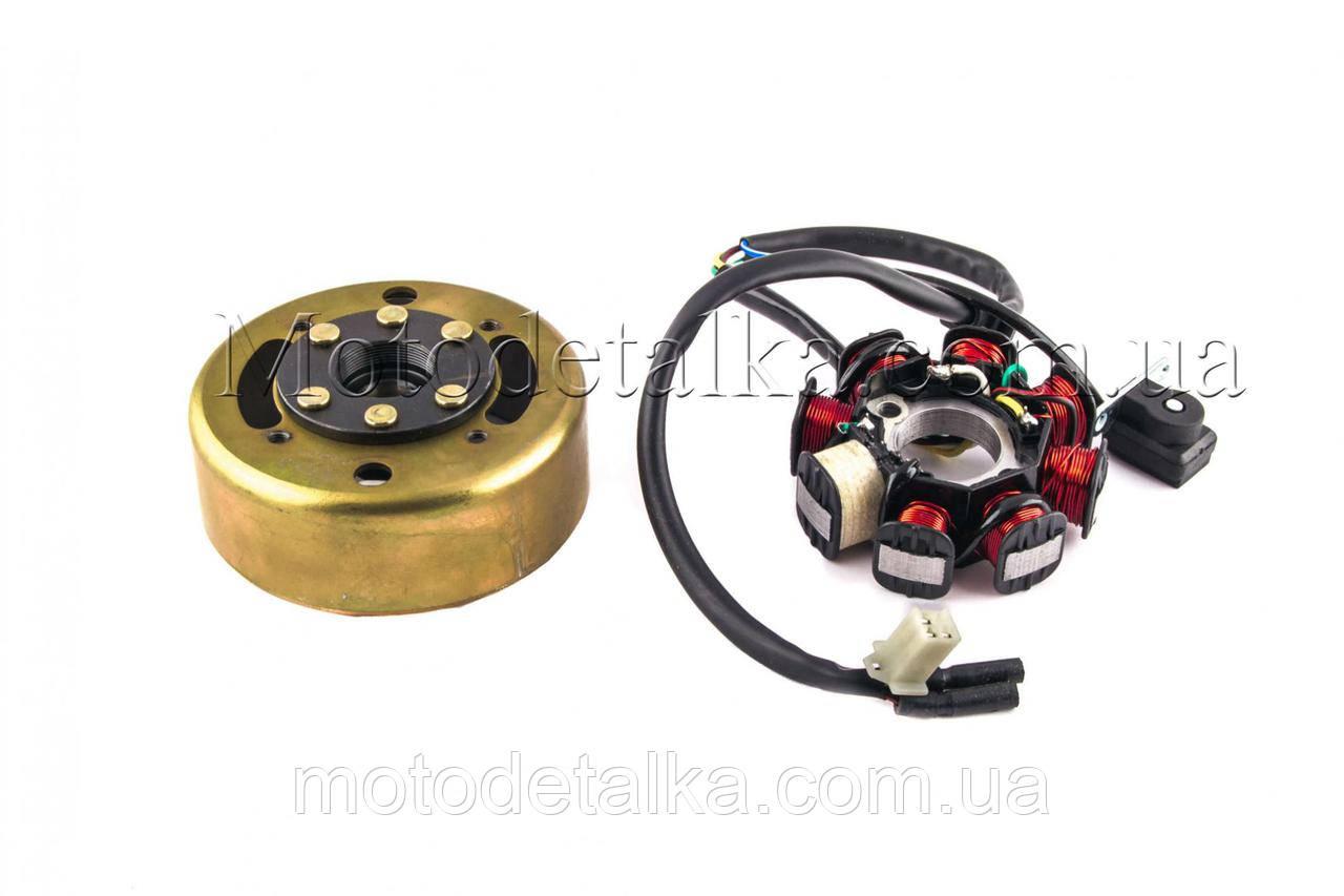 Генератор   4T Китаец 125/150см3   (7+1 катушка).