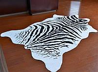 Шкура зебры Homytex  бело-черная 2