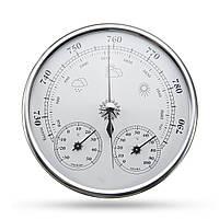 Настенный прогноз погоды Термометр Гигрометр Датчик давления воздуха -30 ~ + 50 ℃ 0 ~ 100% Rh 960 ~ 1060hPa - 1TopShop