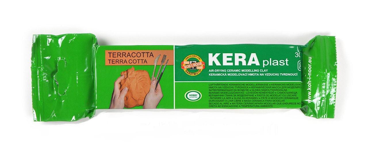Масса для лепки Keraplast, 300г., терракотовый