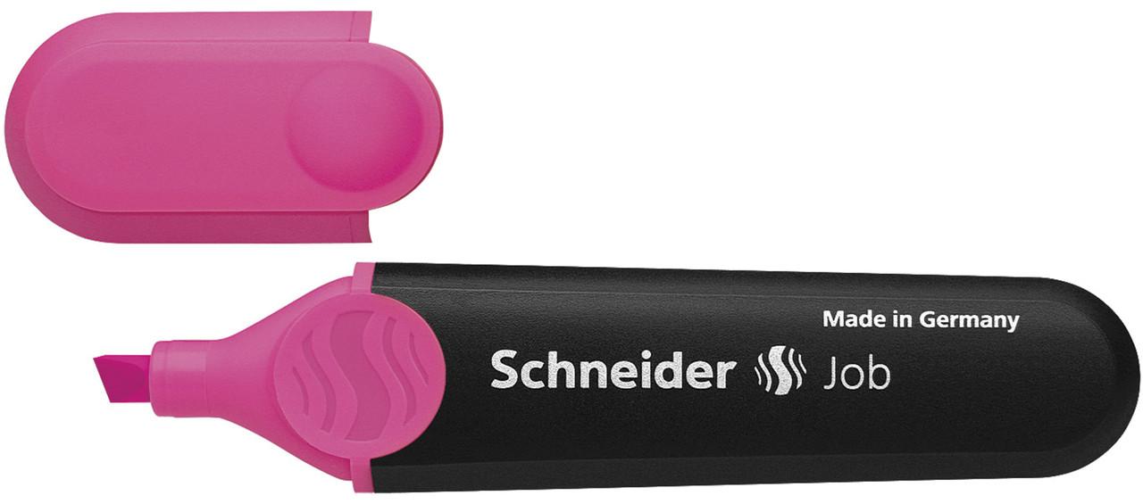 Маркер текстовый Schneider Job, розовый
