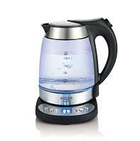 Чайник adler ad 1247 с подогревом до заданной температуры (терморегулятор)