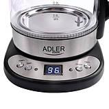 Чайник adler ad 1247 с подогревом до заданной температуры (терморегулятор), фото 5