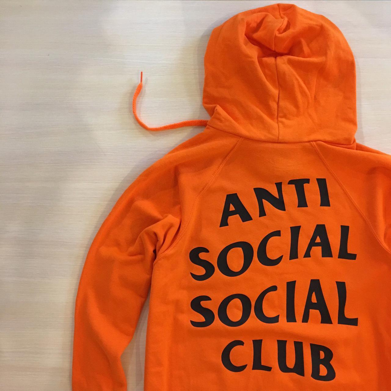 Толстовка с принтом Anti Social social club Paranoid Undefeated |
