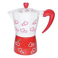 Гейзерная кофеварка Hearts R16593 на  3 чашки (gr006551)