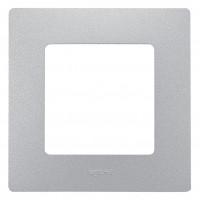 672551 Рамка на 1 пост, алюминий Legrand Etika