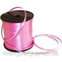 Лента для шаров полипропиленовая розовая 0,5 см (260 м)
