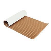 2400x900x6mm Большой EVA Светло-коричневый Лодка Напольный Faux Teak Decking Sheet Pad