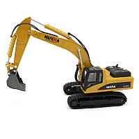 Экскаватор гусеничный HulNa Toys 1:50 Желтый (hub_hJPj00018)