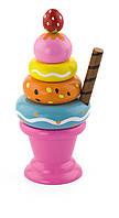 Игровой набор Мороженное с фруктами. Клубничка Viga toys (51321)