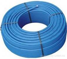 Труба поліетиленова 25*2,7 Ворскла 10 Атм. синя