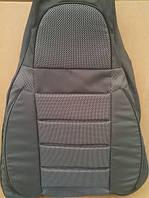 Чехлы модельные Pilot для Shevrolet Aveo SD 2006-12 к/з чер + тк. чер (Пилот для Шевроле Авео)