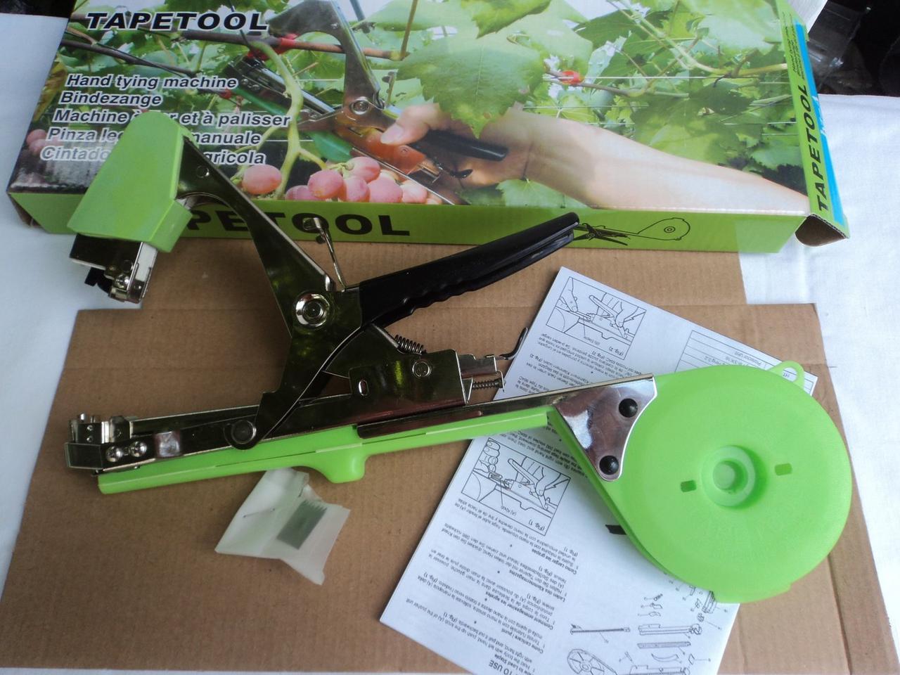 Степлер для подвязки (тапенер для подвязки) растений, винограда, Tapetool Bz-A