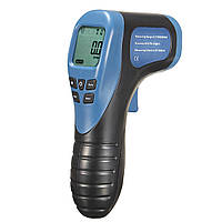 Цифровой Лазер Фото тахометр 2.5-99999 RPM Tach Тестер Измеритель скорости