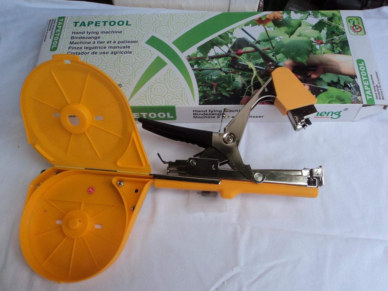 Степлер для подвязки (тапенер для подвязки) растений, винограда, Tapetool Bz-D с большим бункером , фото 1